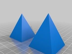 Parametric Pyramids of Hanoi