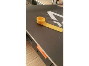 1 cubic centimeter spoon (no support / easy print)
