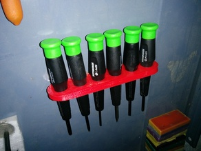 Harbour Freight Screwdriver Holder
