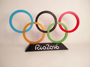 Rio - Olympic Logo Stand