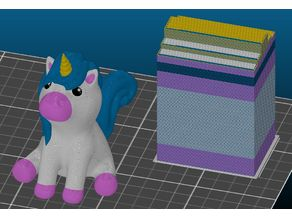 Cute Unicorn Multi Material Remix