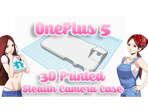 OnePlus 5 3D Printed Stealth Camera Case