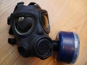 NATO-3M adapter for gas masks