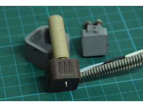 Merlin hotend - silicone sleeve