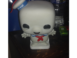 Stay Puft Marshmallow Man Funko Pop Stand