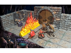 Wall of Fire 28mm RPG