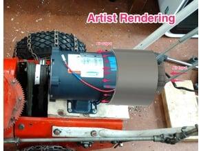 Motor Cooling Shroud