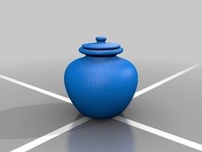 Pot/Jar With Lid