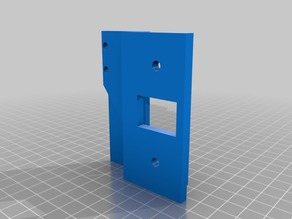 Makergear M2 to Wade extruder adapter plate