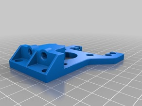Threaded body for FDMTech Dual Bowden extruder