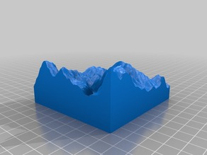 Topographical Model of Homestake