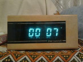 "Soviet electronic clock ""Electronica 6"" replica"