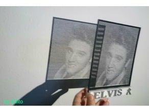 HALFTONE Elvis Presley
