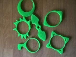 """Pimoroni Flotilla wheel """"snowchain"""" toys"""