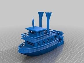 Paddle Wheel Boat v4