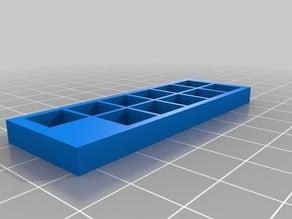 Terraforming Mars Individual Resource Production Cube Holders
