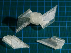 Paper WindMill (half wings assembly)