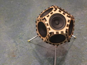 Sputnik 17: Dodecahedron loudspeakers