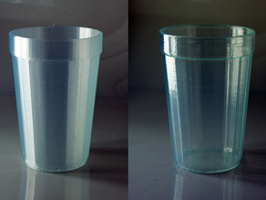 faceted glass from Mukhina