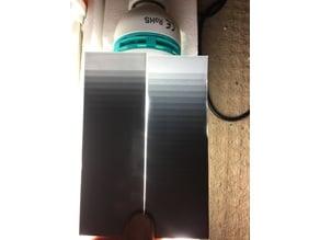 Lithophane Filament Swatch