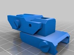 m4 flip up rear iron sights