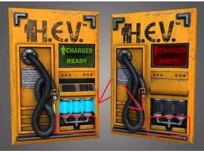 H.E.V. Charger Details (Pipes and base)