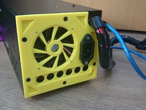 Wanhao Duplicator i3 back plate 60mm fan