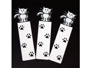 Cat's Paw Bookmark