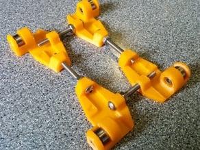 adjustable filament reel roller