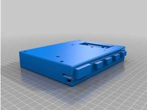 VESA & RPi Mount Enclosure, Atari-Compatible eclaire Mini