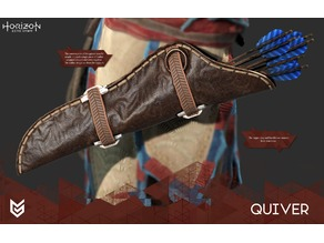 Aloy Quiver Buckle
