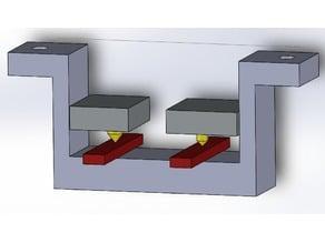 Malyan M180 nozzle level gauge