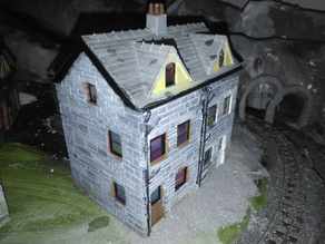 00 / H0 / 009 Slate Cottage 2 storey