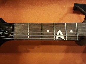 star fleet guitar pick