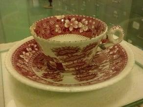 123d catch of Carl Theodor Dreyers teacup