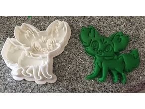 Fennekin Cookie Cutter