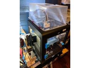 Seahorse Lid Enclosure Clips (Duplicator 6 | Maker Select Ultimate)