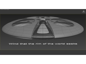 Wind that the rim of the world seeks