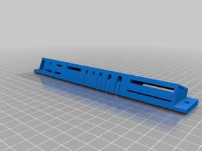 CR-10S Pro Top Rail Tool Mounts reworked