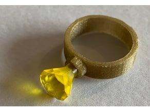 Single Stud Lego Ring