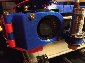 Anet A8 Extruder Fan Mod with Sensor Holder