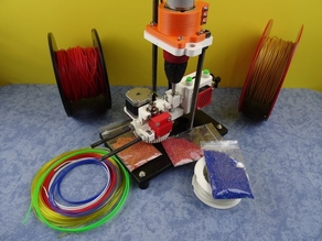 3D Printed Open Source MultiMaterial UPcycler : SHRED-Buddy3D