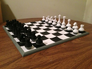 Wobbly Chess Set