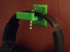 Headphone hanger (wall-mounted)
