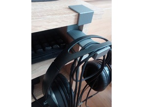 ba9f13c1ae1 Headphones holder for table 16 mm (16,1 mm gap)