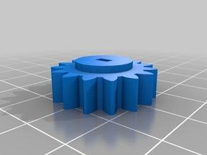InMoov Bicep potentiometer gear bigger