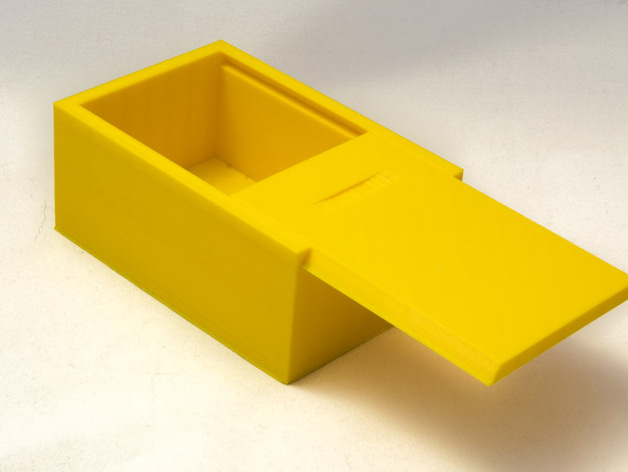 Box With Sliding Lid By Jakobthw Thingiverse