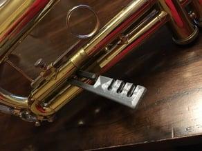 Trumpet 3rd Valve Slide Lock