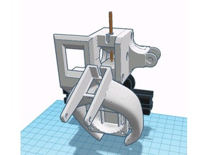 CR-10 Direct Drive extruder with integrated RSE-2