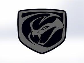 Viper Car Logo 3d Printit
